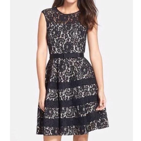 fa95d807dec Eliza J Dresses | Lace Fit And Flare Dress | Poshmark
